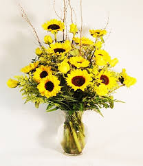 bouquet of sunflowers roses sunflowers premium bouquet fresh sunflowers and vibrant