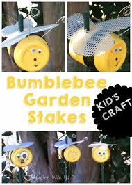 coffee with us 3 bumblebee garden stake kid u0027s craft bumblebee