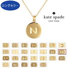 necklace letter pendants images Witusa rakuten global market kate spade kate spade necklaces jpg