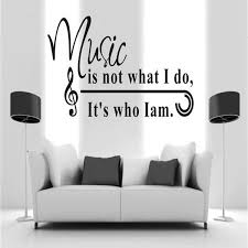 Music Note Wall Decor Feather Musical Note Vinyl Wall Art Decal U2013 Music Love Central