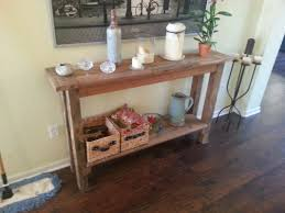 how to reclaimed wood console table find out reclaimed wood