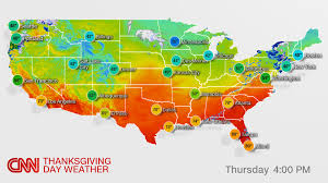 Seattle Weather Map by Thanksgiving Weather Can Make For Tricky Travel Cnn
