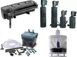different types of aquarium filters