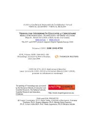proceedings of cniv 2015 issn 1842 4708