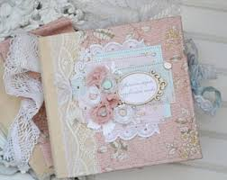 baby girl scrapbook album baby girl pink scrapbook album shabby chic photo album wedding