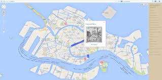 Map Of Venice Artmapping Venice Let Venice Impress You In A Different Way