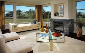 furniture modern glass top coffee table with fireplace insert