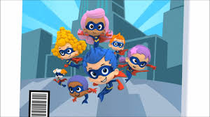 me singing superheroes from bubble guppies from a funny thing