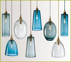 Blue Glass Pendant Light Great Pendant Lighting Shades Colored Glass Pendant Lights
