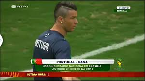 here is ronaldo u0027s haircut today weird faces 30fps