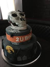 Halloween Party Cake by Custom Corporate Cakes