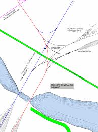 Owosso Mi Map Ann Arbor Railroad Interlocking Plants