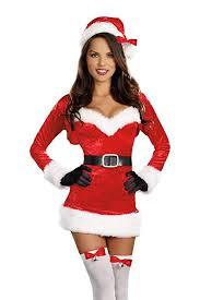 womens santa costume dreamgirl women s santa baby costume clothing