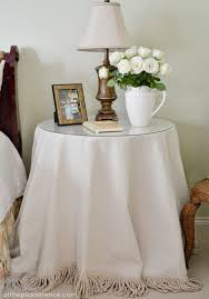end table cover ideas brilliant how to make a fabric table cover end table covers designs