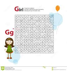 letter maze g this worksheet helps kids recognize and name