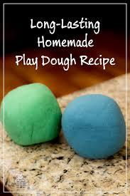 long lasting homemade play dough recipe researchparent com