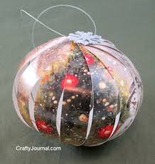 recycled card ornaments rainforest islands ferry
