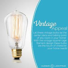 6 pack hudson lighting edison bulb st58 230 lumens 60w