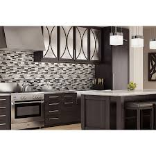 mosaic glass backsplash kitchen shop elida ceramica sahara mixed material glass and metal mosaic