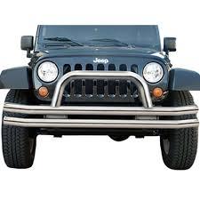 jeep wrangler front bumper rampage 86420 wrangler jk front bumper tube polished stainless