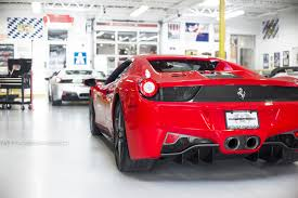 458 spider rear in the shop 458 spider performance package fabspeed