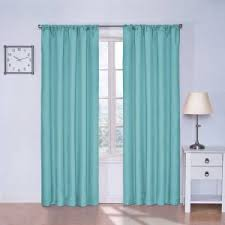 Teal Eyelet Blackout Curtains Coffee Tables Modern Blackout Eyelet Curtain How To Make