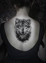 view traditional wolf inspiration calm flower in inkedmag