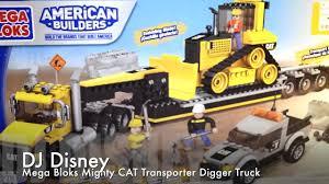 awesome new mega bloks world builders cat heavy duty transport
