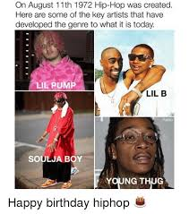 Lil B Memes - on august 11th 1972 hip hop was created here are some of the key