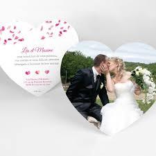 modele remerciement mariage carte de remerciement mariage coeur produit à personnaliser page