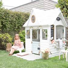 six wooden playhouses your kids will love u2014 winter daisy interiors