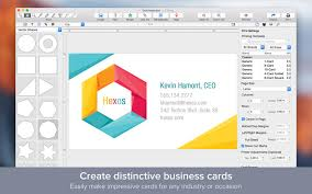 create business card free interesting business card software mac free 30 for business