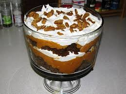 paula deen s pumpkin gingerbread trifle