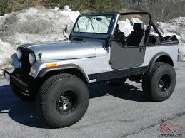 mail jeep lifted jeep cj7 4x4 skyjacker lift 35x12 50 procomps get ready