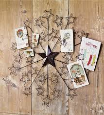metal star card holder indoor holiday decorations