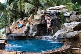 pools with waterfalls the truth about swimming pool waterfalls waterfall pics pools www