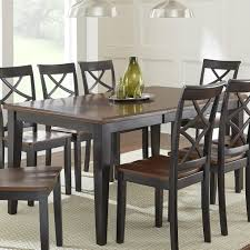 steve silver dining room furniture steve silver rani two tone brown black dining table wayside