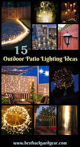 Cool Patio Lighting Ideas 15 Outdoor Patio Lighting Ideas That Ll Enhance Your Outdoor Space