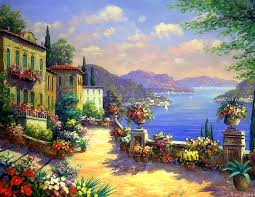 nature hotels mountains scenery old coast garden architecture summer paintings stunning beautiful creative seaside sea landscapes seasons attractions four