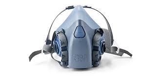 Masker Gas reusable respirators ppe 3m worker health safety 3m united