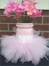 tutu centerpieces for baby shower vase with tutu centerpiece search cairnstravel info