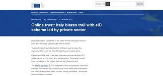 presidenza consiglio dei ministri pec pec spid domicilio digitale unico italia all avanguardia