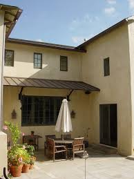 Al Awnings Cape Town La Habra Stucco For A Mediterranean Patio With A Outdoor Lighting