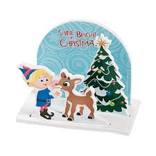 3d rudolph the red nosed reindeer scene craft kit craft kits