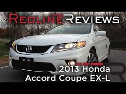 honda accord ex l review 2013 honda accord coupe ex l review walkaround exhaust test