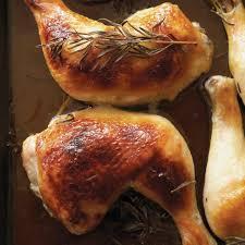cuisiner des cuisse de poulet cuisses de poulet au miel et au romarin ricardo