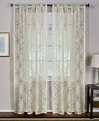 Grommet Curtains 63 Length 2 Mira Panel Ivory Off White Window Faux Silk Grommet Curtain 63