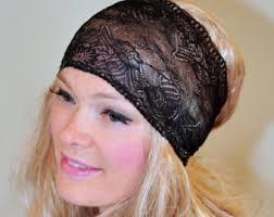 lace headbands womens lace headband etsy