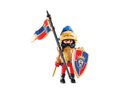 Lion Flag Leader Of The Lion Knights 6380 Playmobil United Kingdom