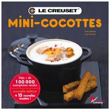 livre photo cuisine 40 mini cocottes en sucre et en sel livre de cuisine le creuset
